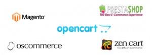 open source webwinkel pakketten
