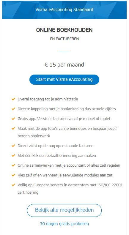 visma-eaccounting-factureren-standaard
