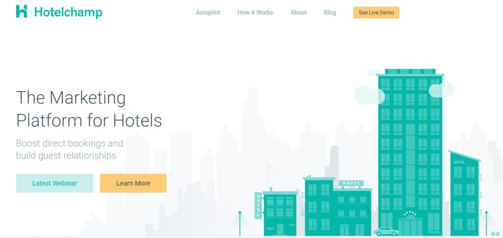 Hotelchamp is een SAAS oplossing
