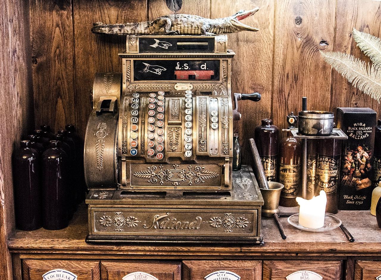 oude kassa
