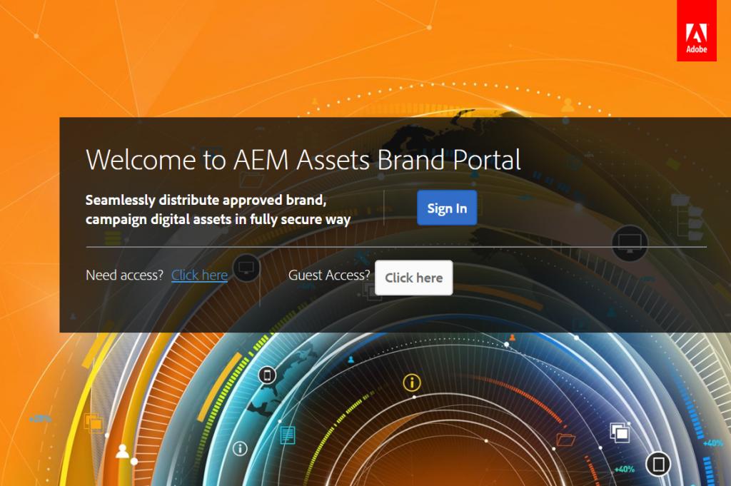 Brand Portal Adobe AEM