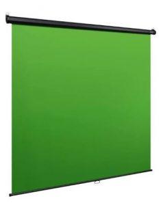 groen scherm hangend