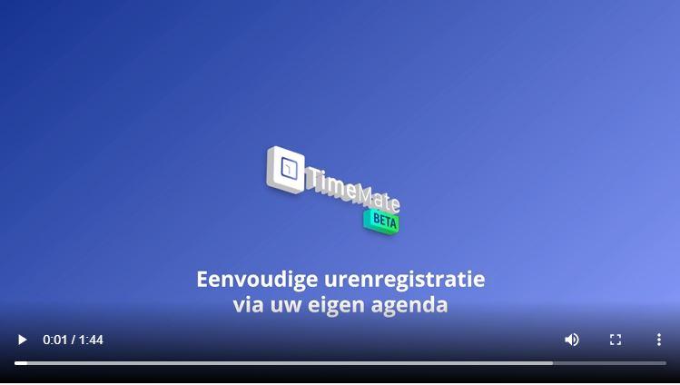 timemate urenregistratie video